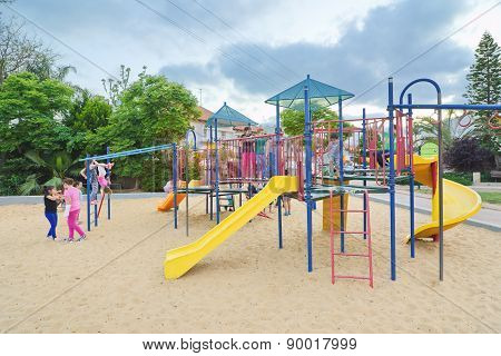 Kids In A Playground