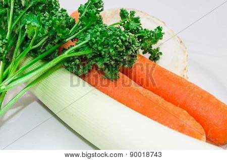 Carrots And Herbs