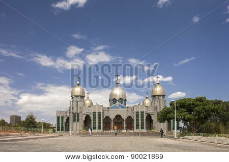 Ethiopian orthodox church in Addis Ababa, Ethiopia