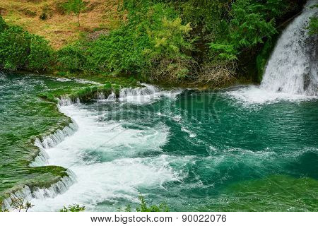 waterfall Krka; Croatia
