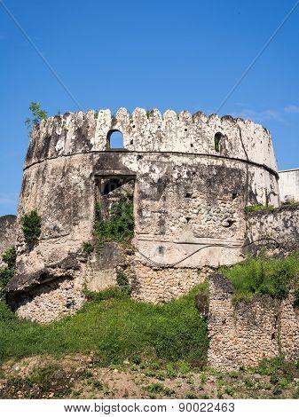 Old Fort (Ngome Kongwe) in Stone Town, Zanzibar