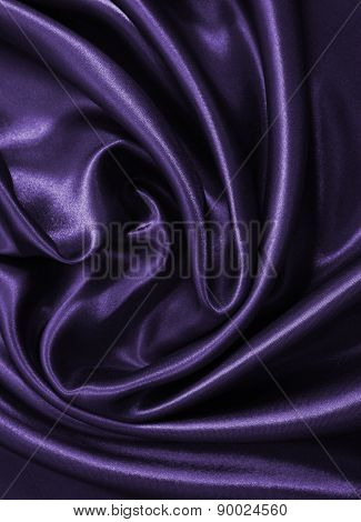 Smooth Elegant Lilac Silk Or Satin As Background