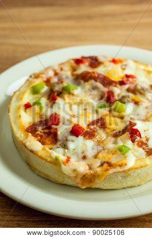 Personal Deep Dish Pizza