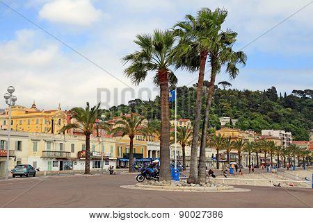 Promenade Des Anglais, Nice, France.
