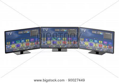 Three Smart Tv