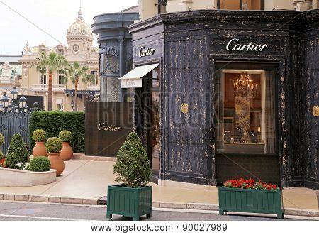 Cartier Store Near Monte Carlo Casino, Monaco.