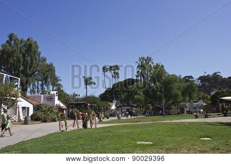 People Walking Around Old Town San Diego State Historic Park