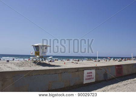 San Diego Mission Bay Beach