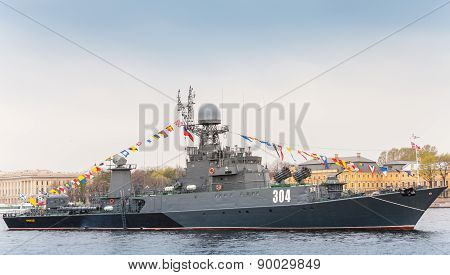 Small Antisubmarine Ship Urengoy, Project 1331M