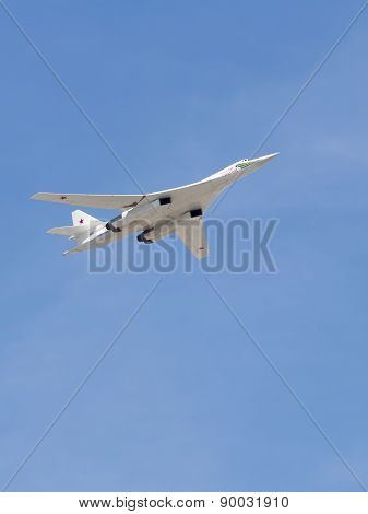 Tu-160 Military Aircraft White