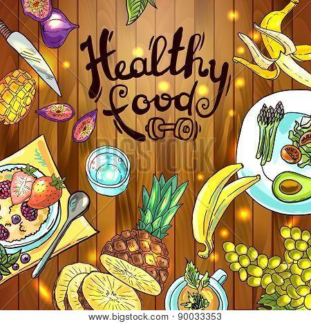 illustration fruits
