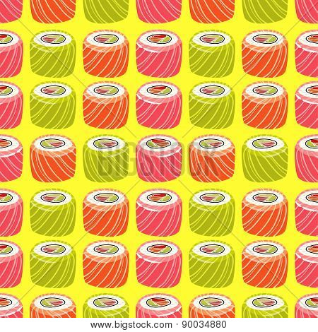 Sushi pattern