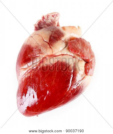 Heart isolated on white