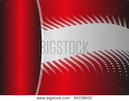 Vector red abstract, background with place for text