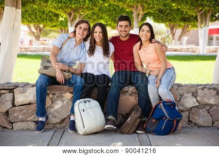 Hispanic College Students