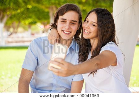 Selfie With My Boyfriend
