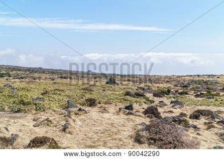 Plateau Near The Witse-oreum In Yeongsil