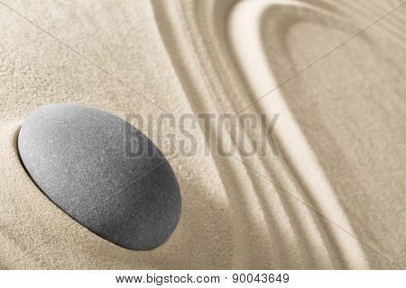 zen garden background meditation stone for relaxation and balance spa wellness purity in rock therapy