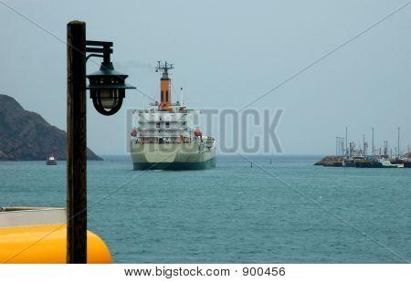 Leaving Harbor