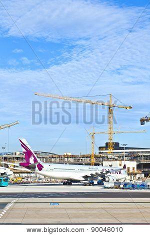 Aircraft At The Apron