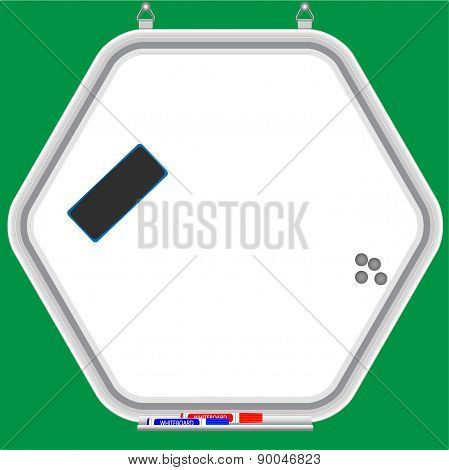 Hexagonal Whiteboard