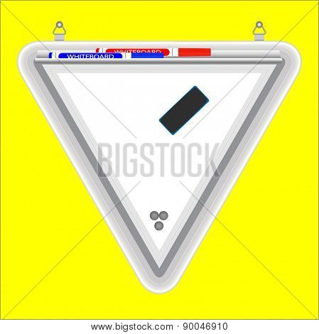Triangular Whiteboard