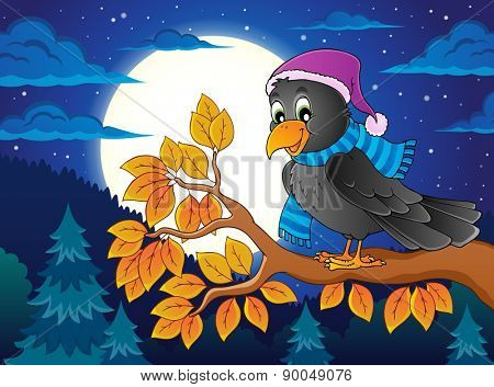 Bird topic image 4 - eps10 vector illustration.