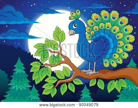 Bird topic image 2 - eps10 vector illustration.