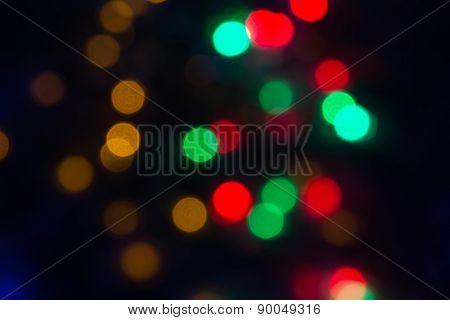 the holiday bokeh