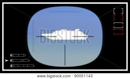 Submarine Periscope Template 02