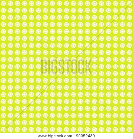 Spring Cute Flower Pattern Background
