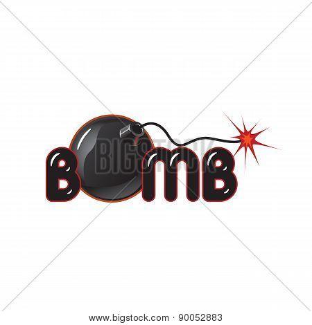 Bomb Illustration Logo