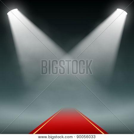 Red Carpet Illumination Projectors.