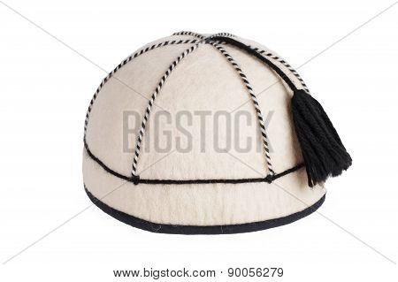 Round Felt Cap