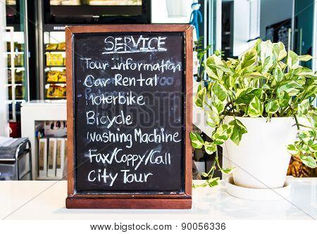 Information Board Service
