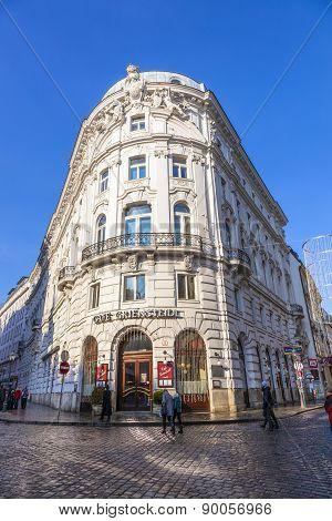 Famous Coffeehaus Cafe Griensteidl In Vienna