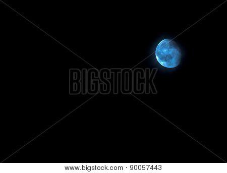 natural blue moon