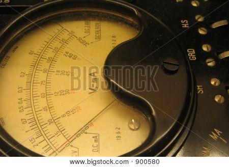 Vintage Ampmeter