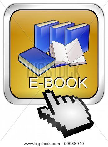 E-Book Button with Cursor