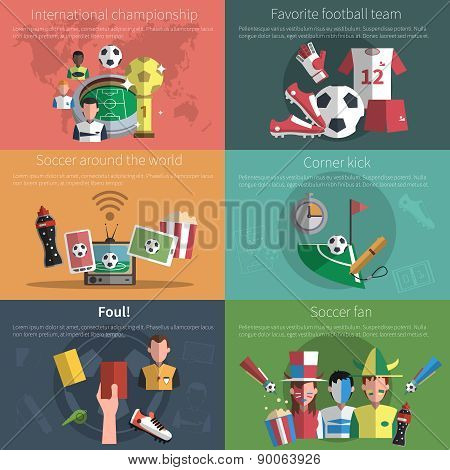 Soccer Mini Poster Set