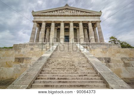 An image of the Walhalla in Bavaria Germany