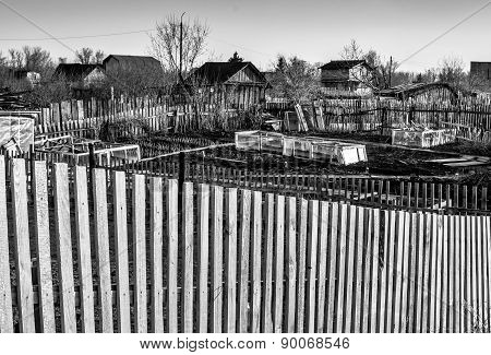 Garden Plots And Fencing