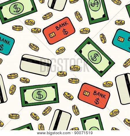 Money Seamless Pattern