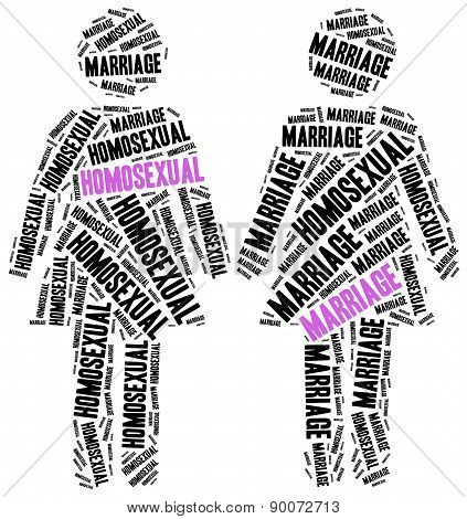 Homosexual Marriage.