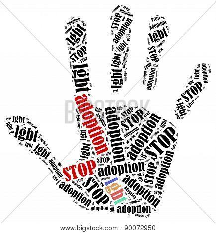 Stop Lgbt Adoption.