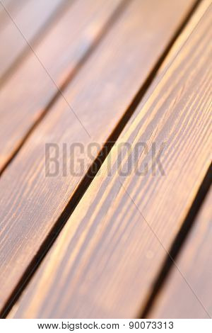 Wooden background in brown