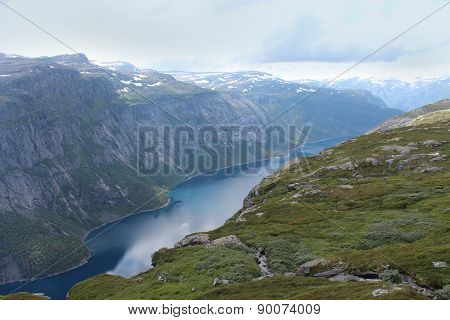 Beautiful landscape of Norway.