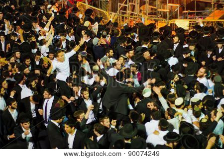 Lag Baomer On Mount Meron 2015