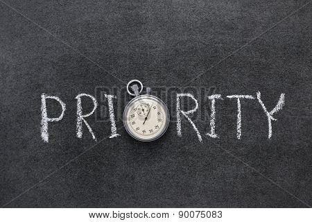 Priority Word