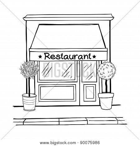 Sketchy Restaurant